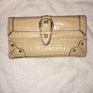 Cream color wallet